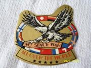 Наклейка No space war